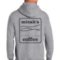 Micah's Heavy Blend Hoodie   Sport Grey