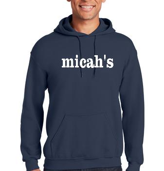 Micah's Heavy Blend Hoodie   Navy