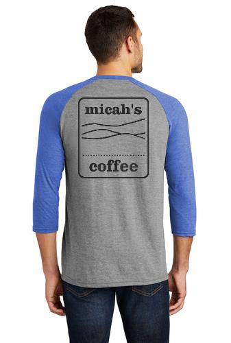 Micah's Baseball Tee   Royal