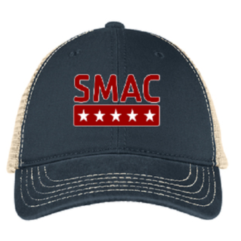 SMAC Trucker Hat   New Navy