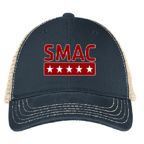 SMAC Trucker Hat   New Navy