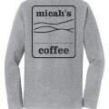 Micah's Long Sleeve Tee   Athletic Heather