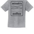 Micah's Youth Short Sleeve Tee   Athletic Heather