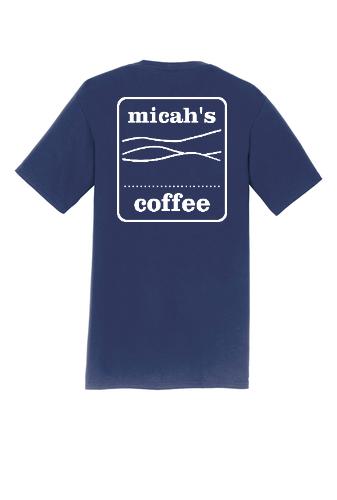 Micah's Short Sleeve Tee   Navy