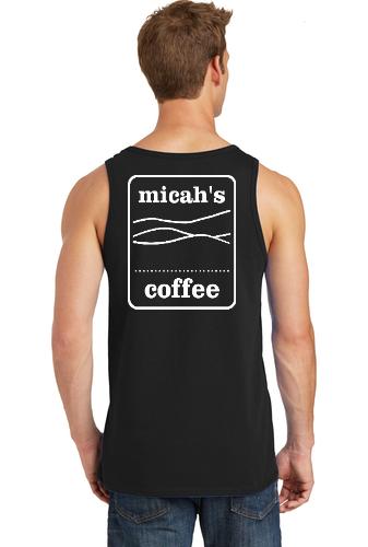Micah's Core Cotton Tank Top   Black