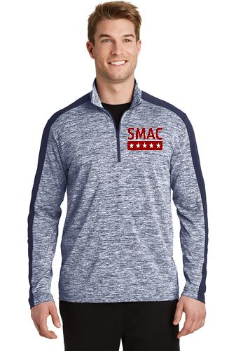 SMAC 1/4 Sport Pullover   True Navy