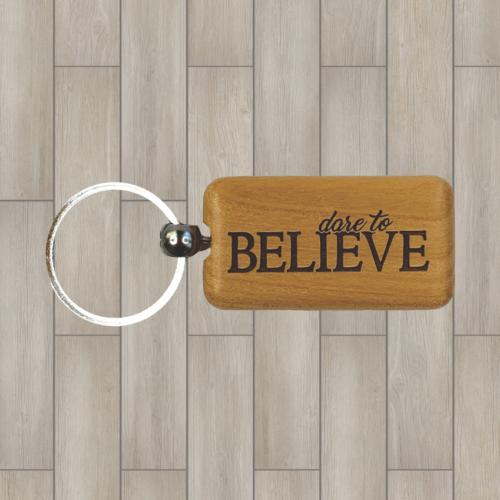 Believe wood key