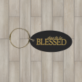 Blessed oval key