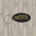 Brave oval key