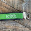 joyful green key