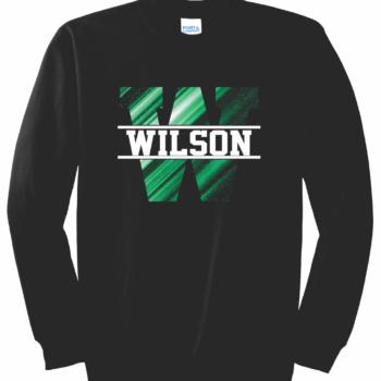 Sweatshirt Abstract Block   Black