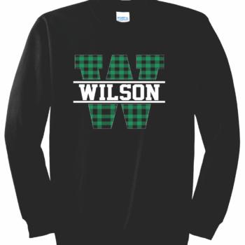 Sweatshirt Buffalo Block   Black