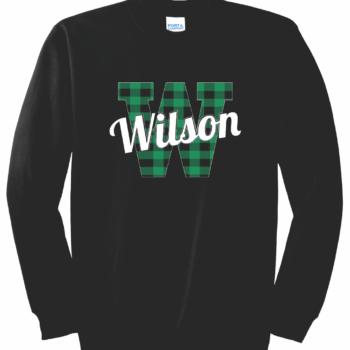 Sweatshirt Buffalo Script   Black