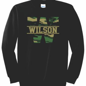 Sweatshirt Camo Block   Black