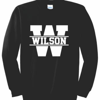 Sweatshirt White Block   Black