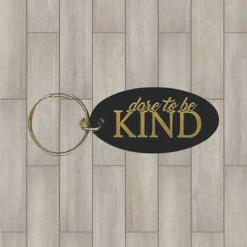 Kind oval key 1