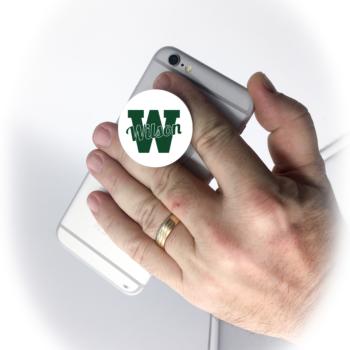 Phone Grip Green Script