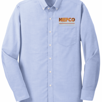NEFCO Oxford Shirt   Oxford Blue