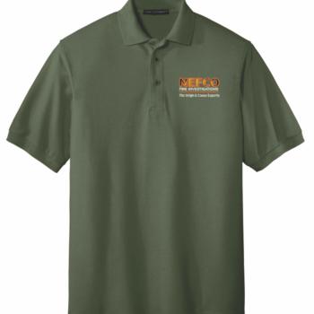 NEFCO Silk Touch Polo Shirt   Clover Green