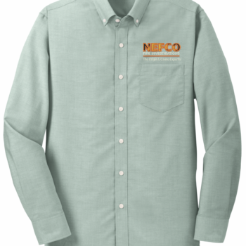 NEFCO Oxford Shirt   Green