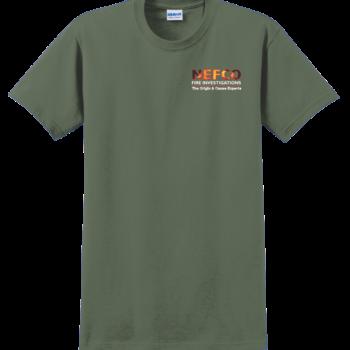 NEFCO T Shirt   Military Green