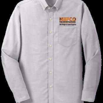 NEFCO Oxford Shirt   Gusty Grey