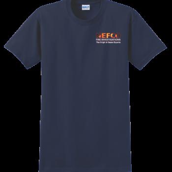 NEFCO T Shirt   Navy Blue