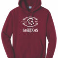 HoodieMaroon Football