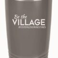 Village Block Tumbler Grey