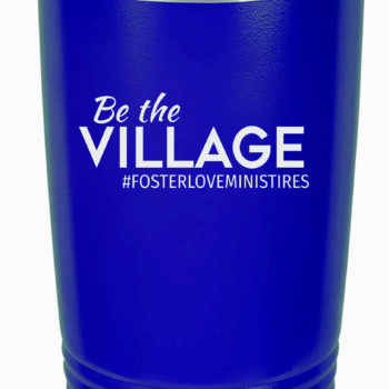 Be the Village 20 oz Insulated Tumbler   Navy
