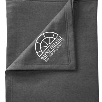 Wayne Theatre Fleece Blanket