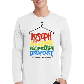 Joseph and the Amazing Technicolor Dream Coat White Long Sleeve T Shirt