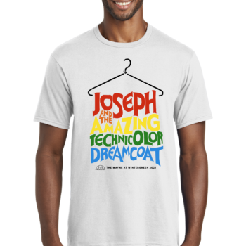 Joseph and the Amazing Technicolor Dream Coat White T Shirt